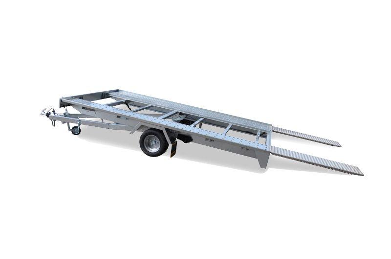 humbaur autotransporter kleine voertuigen ideaal voor achter mobilhome dn trailers. Black Bedroom Furniture Sets. Home Design Ideas